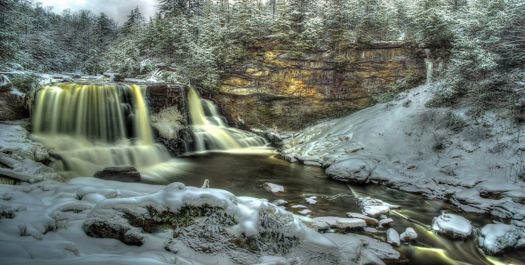 Wintertime Blackwater Falls